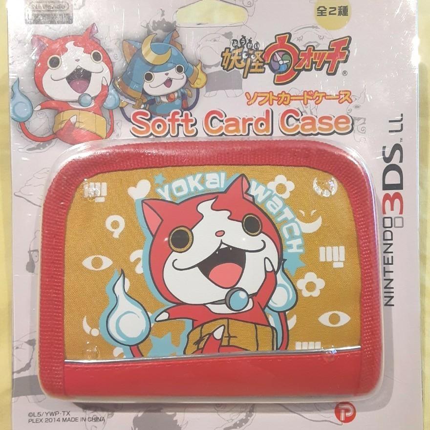 NINTENDO 任天堂 ニンテンドー 3DS LL 妖怪ウォッチ ソフトケース