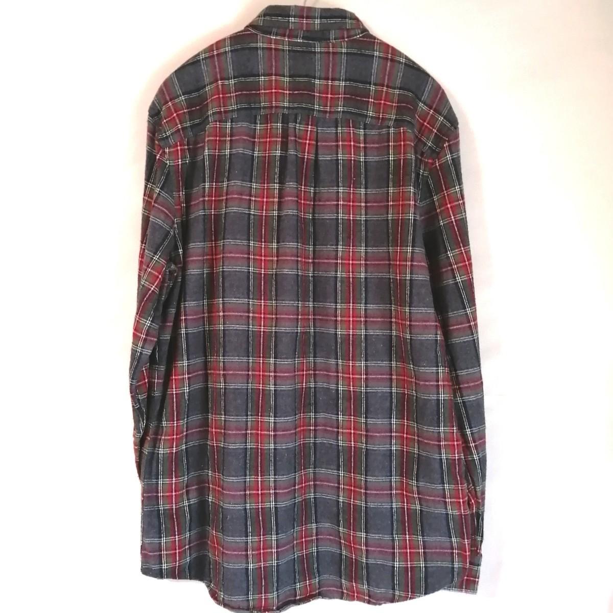 L.L.Bean チェックシャツ ネルシャツ