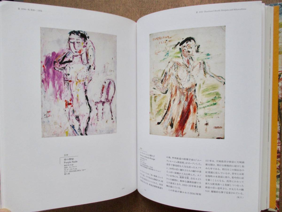 「長谷川利行展」 図録_画像9