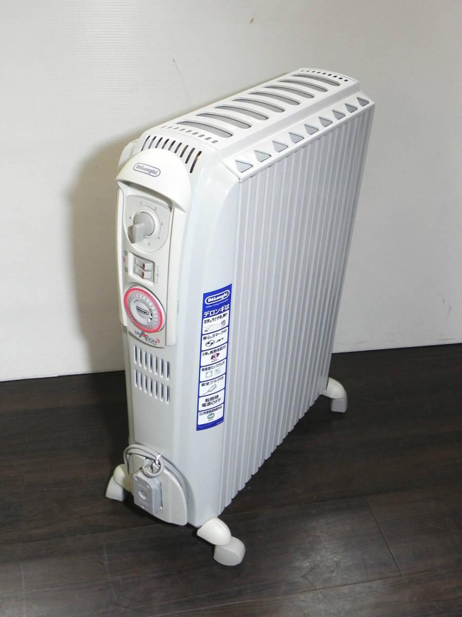 [Q2952]デロンギ オイルヒーター ドラゴン3 D091549EFS 4~10畳用