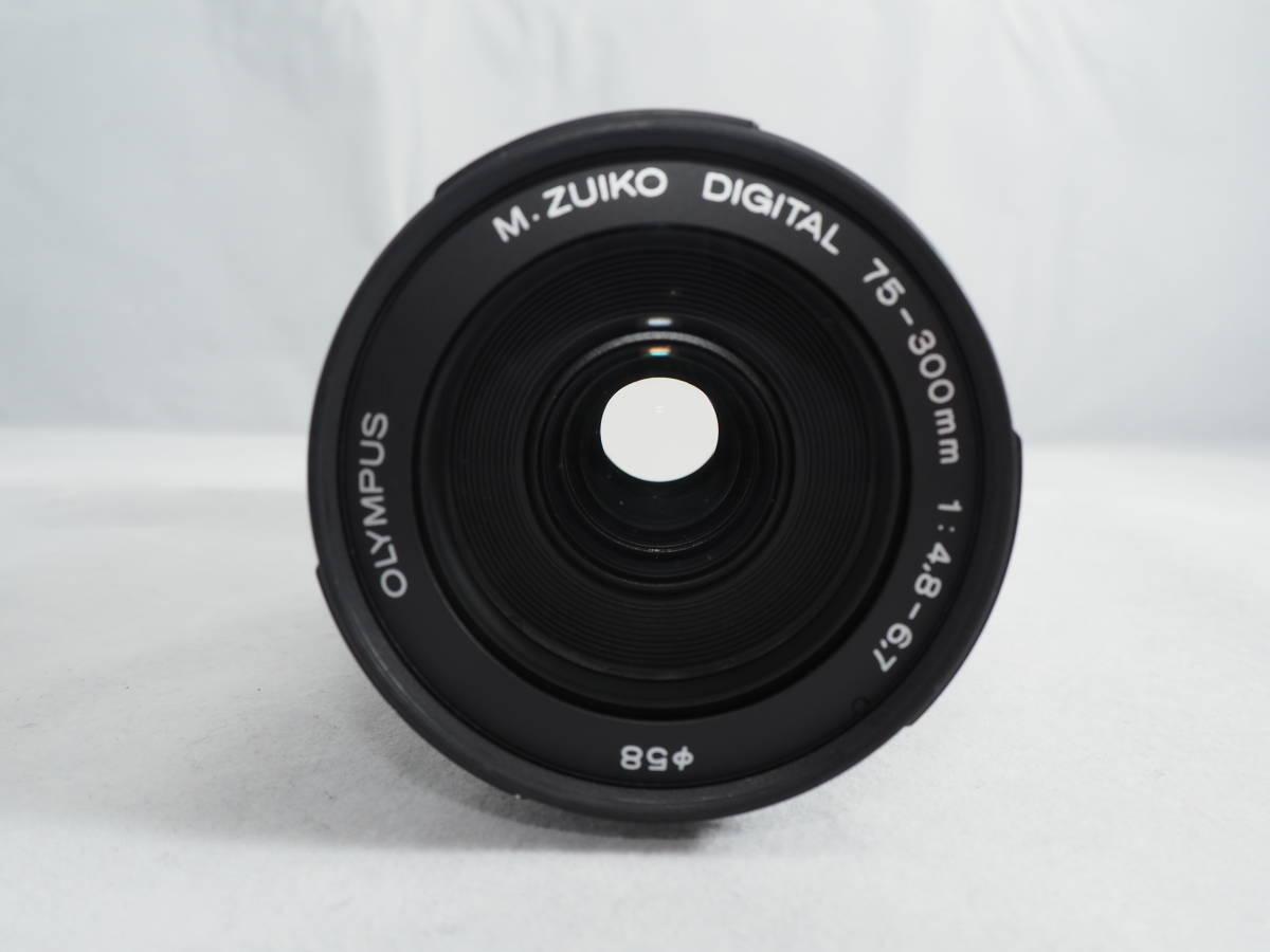 希少品 OLYMPUS M.ZUIKO DIGITAL ED 75-300mm F4.8-6.7 II マイクロフォーサーズレンズ オリンパス_画像3