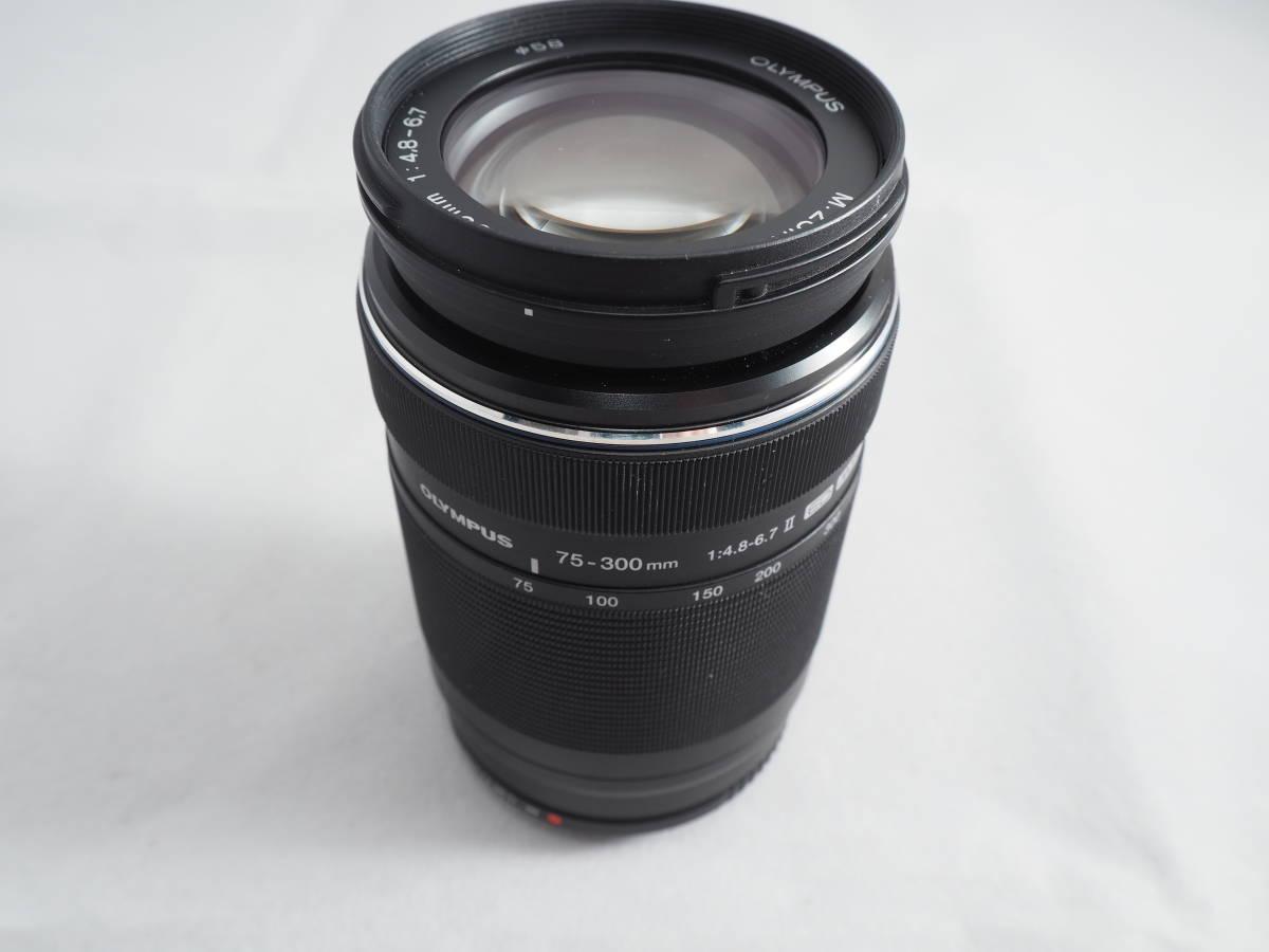 希少品 OLYMPUS M.ZUIKO DIGITAL ED 75-300mm F4.8-6.7 II マイクロフォーサーズレンズ オリンパス_画像5