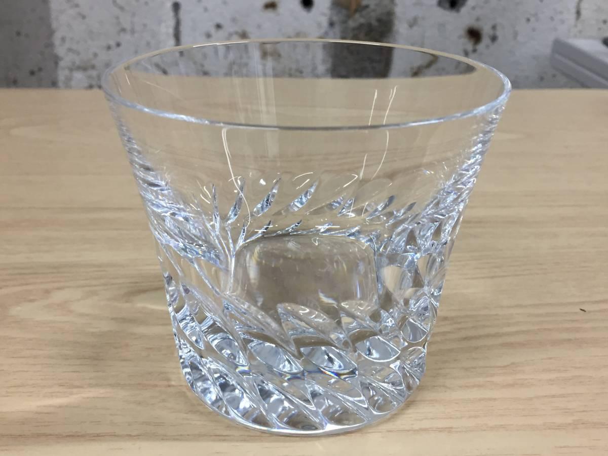 5565★Baccarat バカラ ロックグラス グローリア タンブラー クリスタルガラス 未使用保管品_画像2