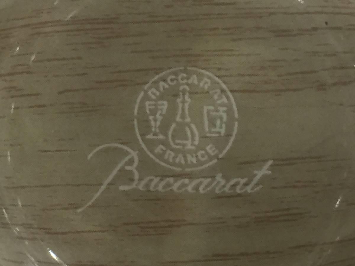 5565★Baccarat バカラ ロックグラス グローリア タンブラー クリスタルガラス 未使用保管品_画像6