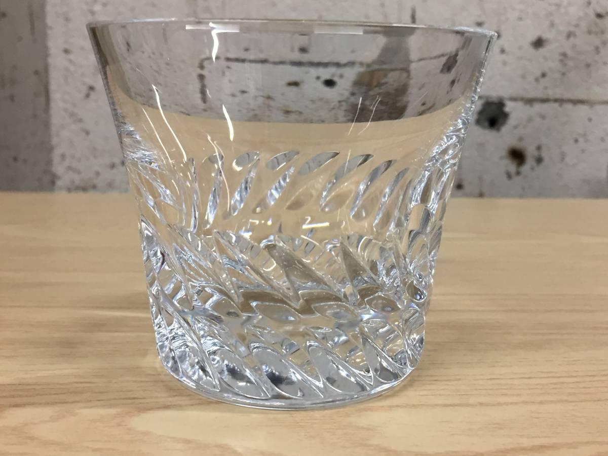 5565★Baccarat バカラ ロックグラス グローリア タンブラー クリスタルガラス 未使用保管品_画像7