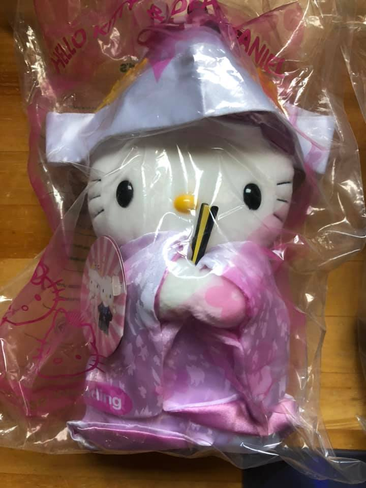 Hello Kitty & Dear Daniel Japanese Wedding ハローキティ ダニエル 和装 着物 ウェディング 結婚式 花嫁衣裳 結婚祝い ひな祭り 雛人形_画像2