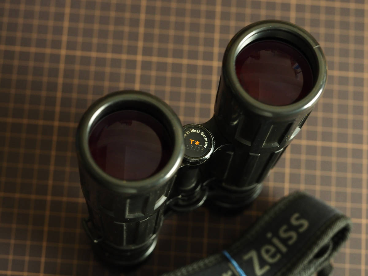 Carl Zeiss 双眼鏡 Dialyt 7x42 B T* カール・ツァイス made in west germany_画像3