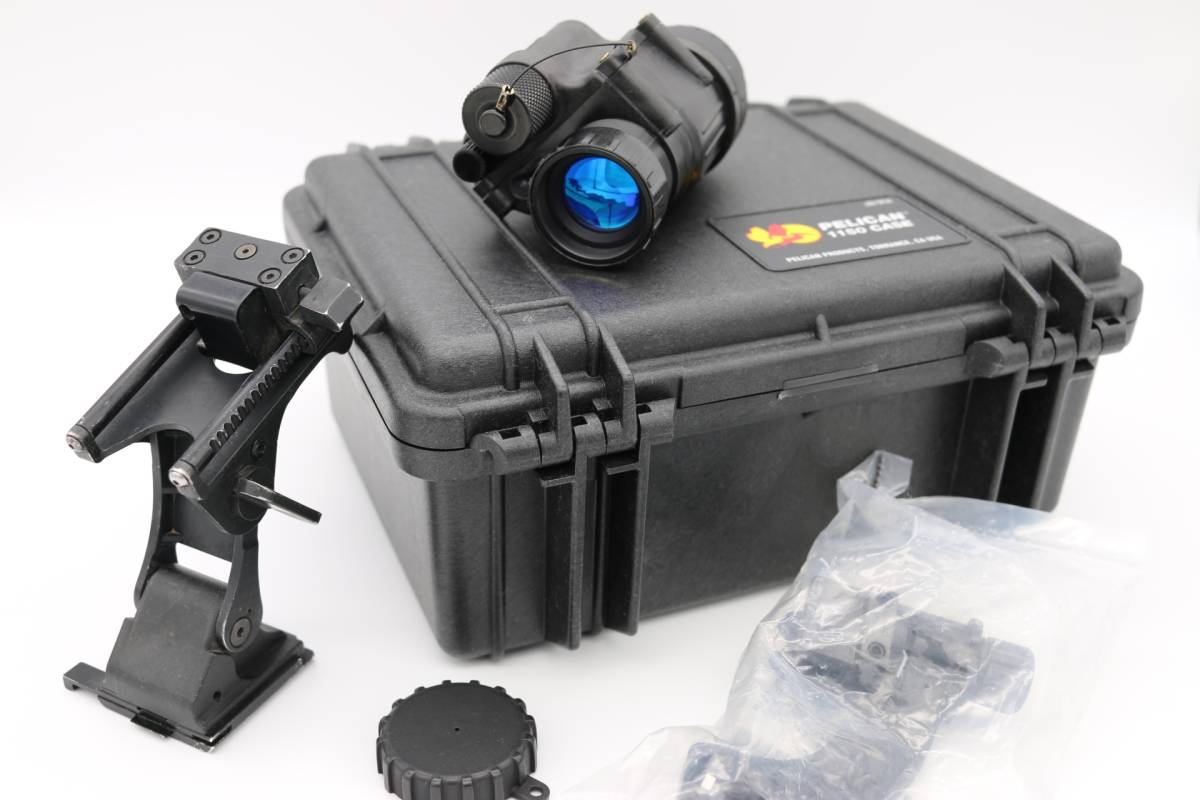 実物 美品 PVS 14 A2 ITT 第3世代 オムニ7 OMNI 暗視装置 ナイトビジョン 米軍 暗視 PVS15 暗視装置