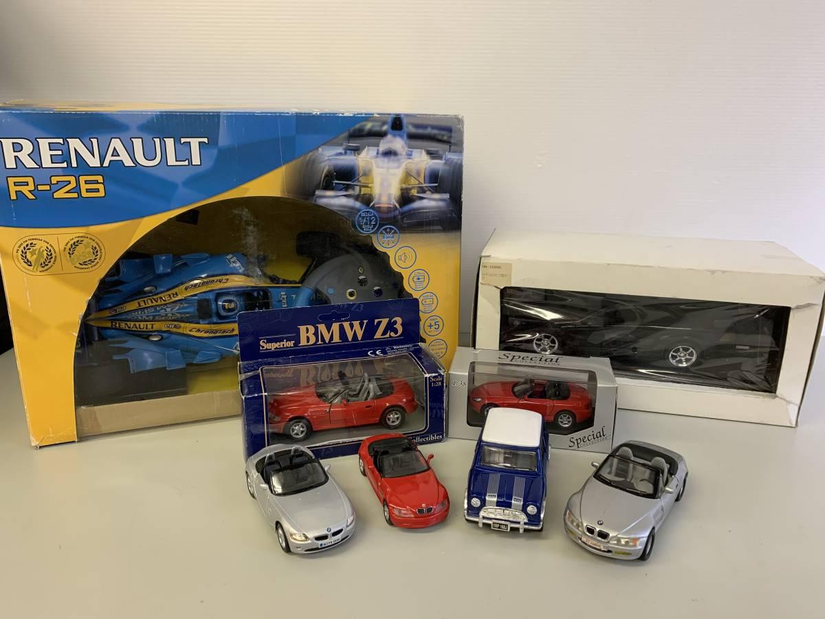 【お買い得品!】 ★ ラジコンカー ミニカー ★ 8点セット売り mini BMW メルセデスベンツ RENAULTR-26 「まとめ売り」
