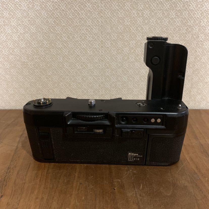 送料無料 Nikon ニコン MD-4 モータードライブ MOTOR DRIVE F3用 カメラパーツ アクセサリー 中古 現状品_画像1