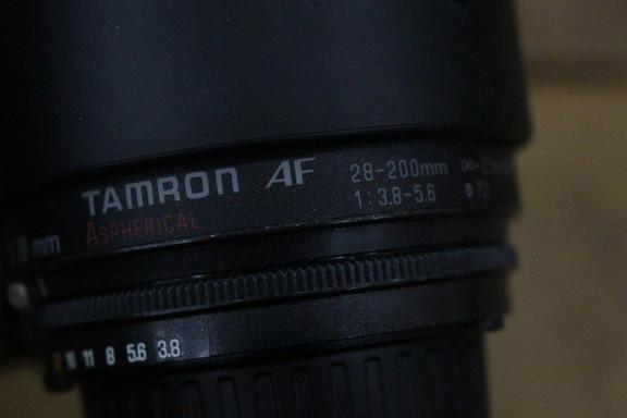 Nikon ニコン TAMRON AF ASPHERICAL 28-200mm レンズ 72㎜ 一眼レフ カメラ_画像3