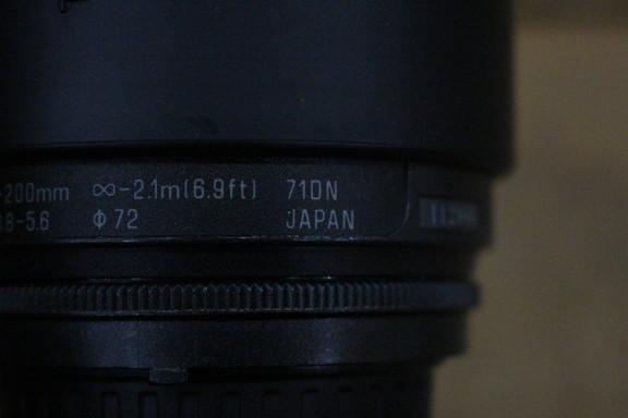 Nikon ニコン TAMRON AF ASPHERICAL 28-200mm レンズ 72㎜ 一眼レフ カメラ_画像4