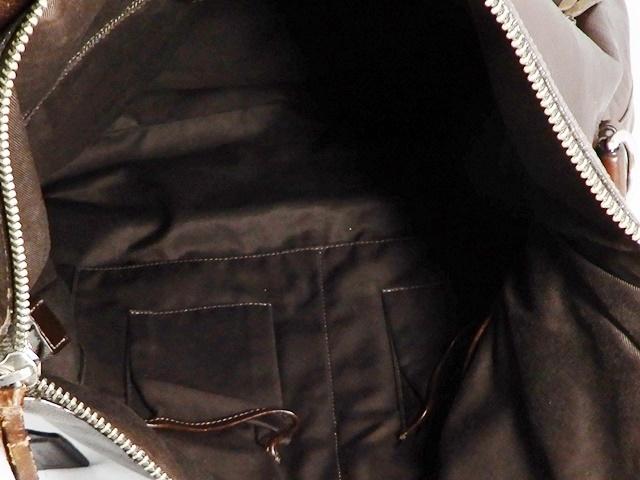 即決★COACH★オールレザートートバッグ オールドコーチ メンズ 焦茶 本革 ハンドバッグ 本皮 かばん 通勤 トラベル 鞄 カバン レディース_画像7