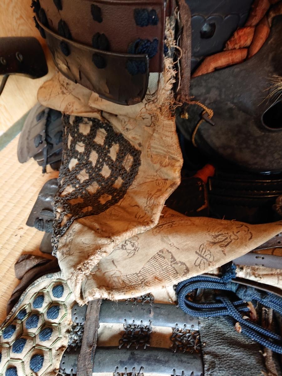 江戸時代 中期 保証 甲冑 鎧 当世具足 鎧兜 一式 鎧櫃 状態良好 _画像5