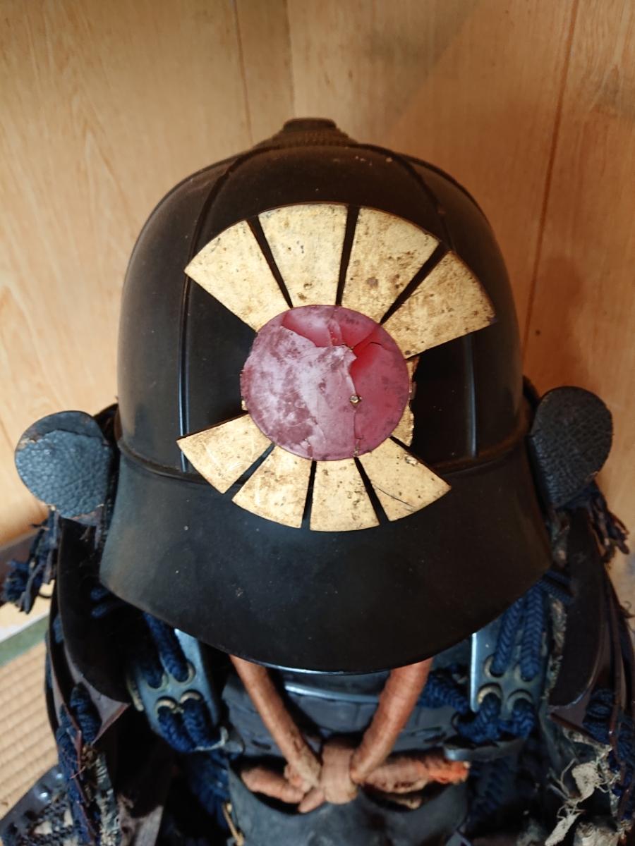 江戸時代 中期 保証 甲冑 鎧 当世具足 鎧兜 一式 鎧櫃 状態良好 _画像4