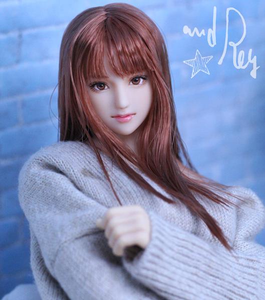 ★and Rey★1/6カスタムドールヘッド「亜也加」_画像9