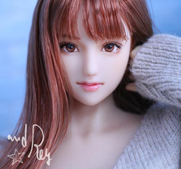 ★and Rey★1/6カスタムドールヘッド「亜也加」