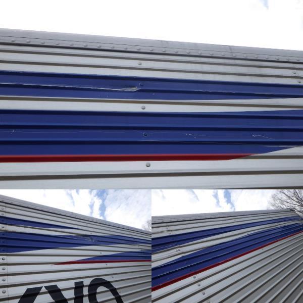 r2122-100 ★ コンテナ 倉庫 物置 道具箱 アルミバン 保冷バン 冷凍箱 アルミウイング_画像4