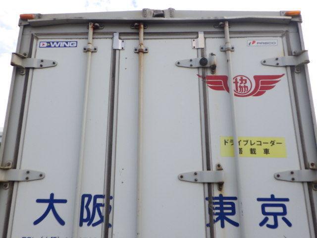 r2122-100 ★ コンテナ 倉庫 物置 道具箱 アルミバン 保冷バン 冷凍箱 アルミウイング_画像5