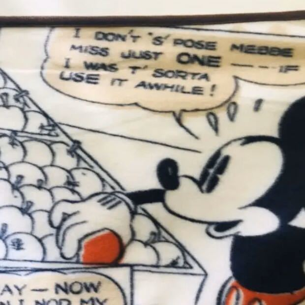 Disney ディズニー公式 コミックミッキー フリース ブランケットミッキーマウス ひざ掛け グーフィー 正規品 新品