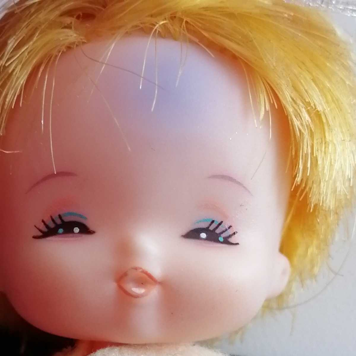 おでこ汚れ難。リカちゃん フラワーベビーズ たんぽぽちゃん 人形 赤ちゃん _画像4