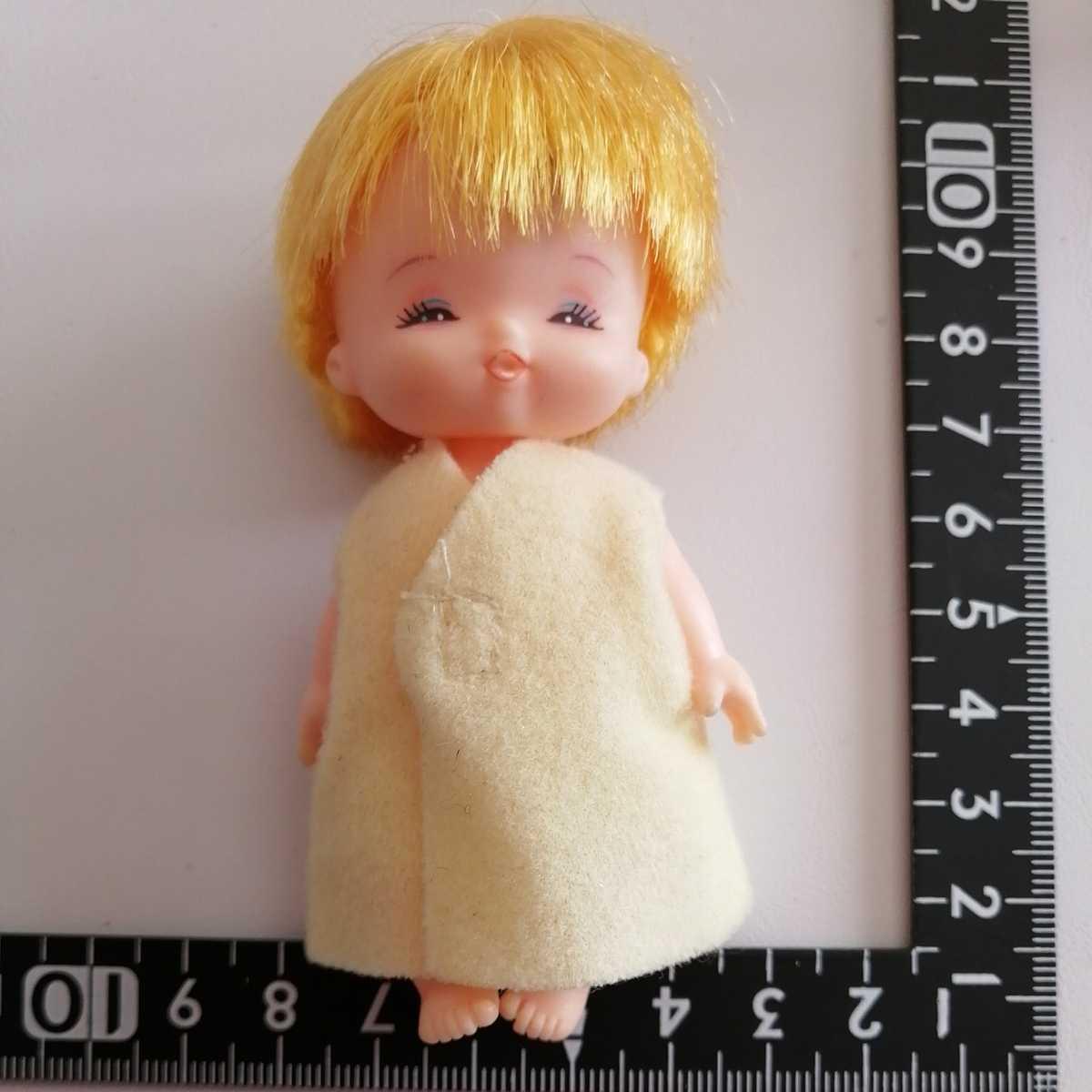 おでこ汚れ難。リカちゃん フラワーベビーズ たんぽぽちゃん 人形 赤ちゃん _画像6