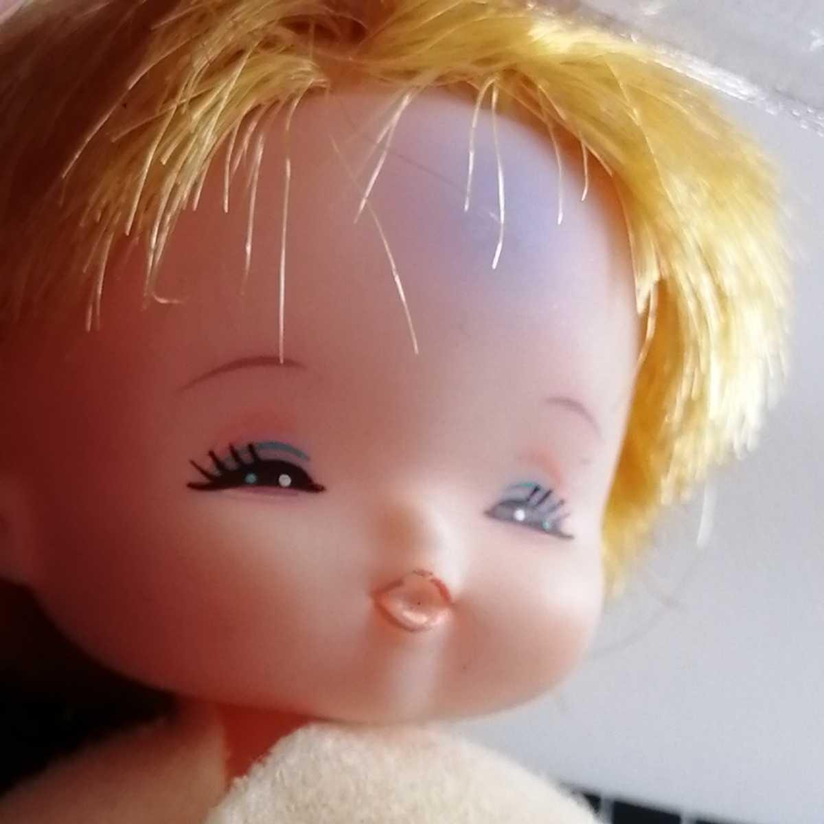 おでこ汚れ難。リカちゃん フラワーベビーズ たんぽぽちゃん 人形 赤ちゃん _画像5