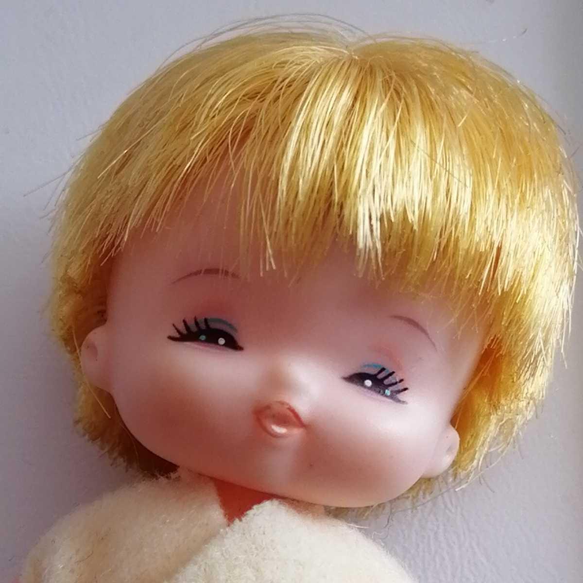 おでこ汚れ難。リカちゃん フラワーベビーズ たんぽぽちゃん 人形 赤ちゃん _画像3