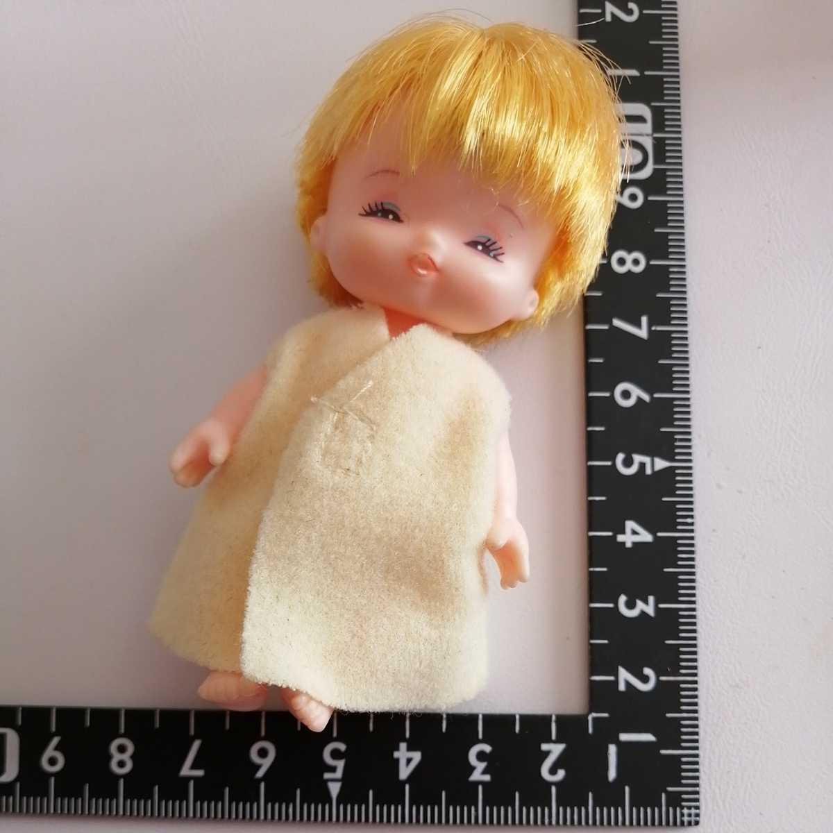 おでこ汚れ難。リカちゃん フラワーベビーズ たんぽぽちゃん 人形 赤ちゃん _画像1