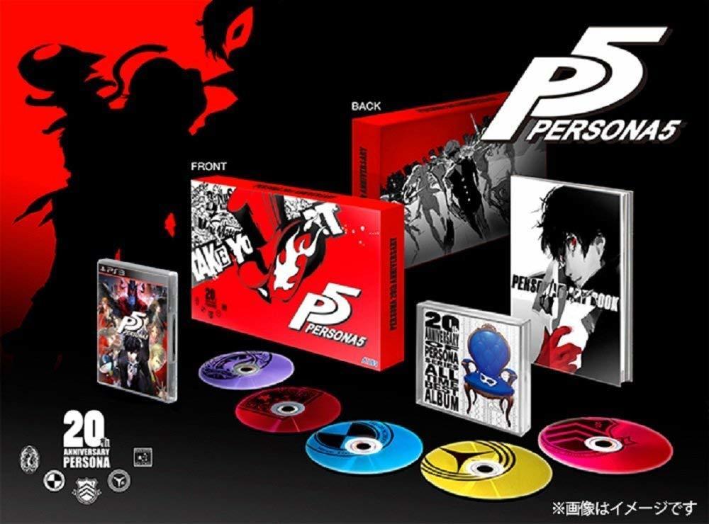 【PS3】ペルソナ5 20thアニバーサリー・エディション/P5・限定版
