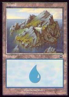 032336-002 MM/MMQ 基本土地 島/Island(336/350) 英1枚_画像1