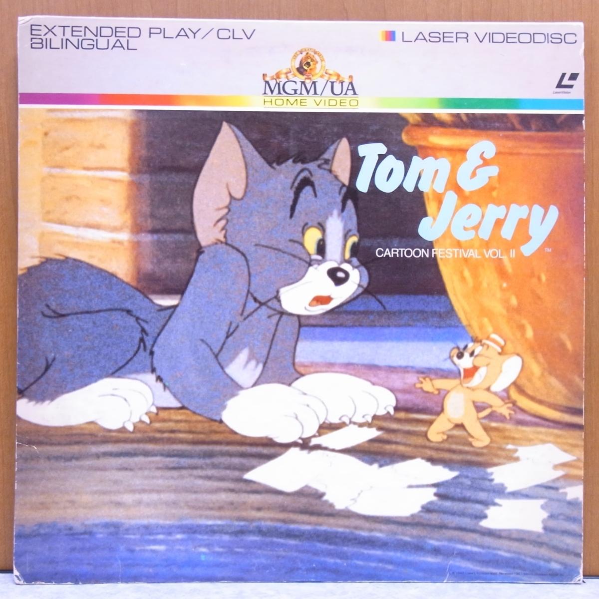 ■ トムとジェリー Vol.2 アニメ レーザーディスク LD ■管理№1037_画像1