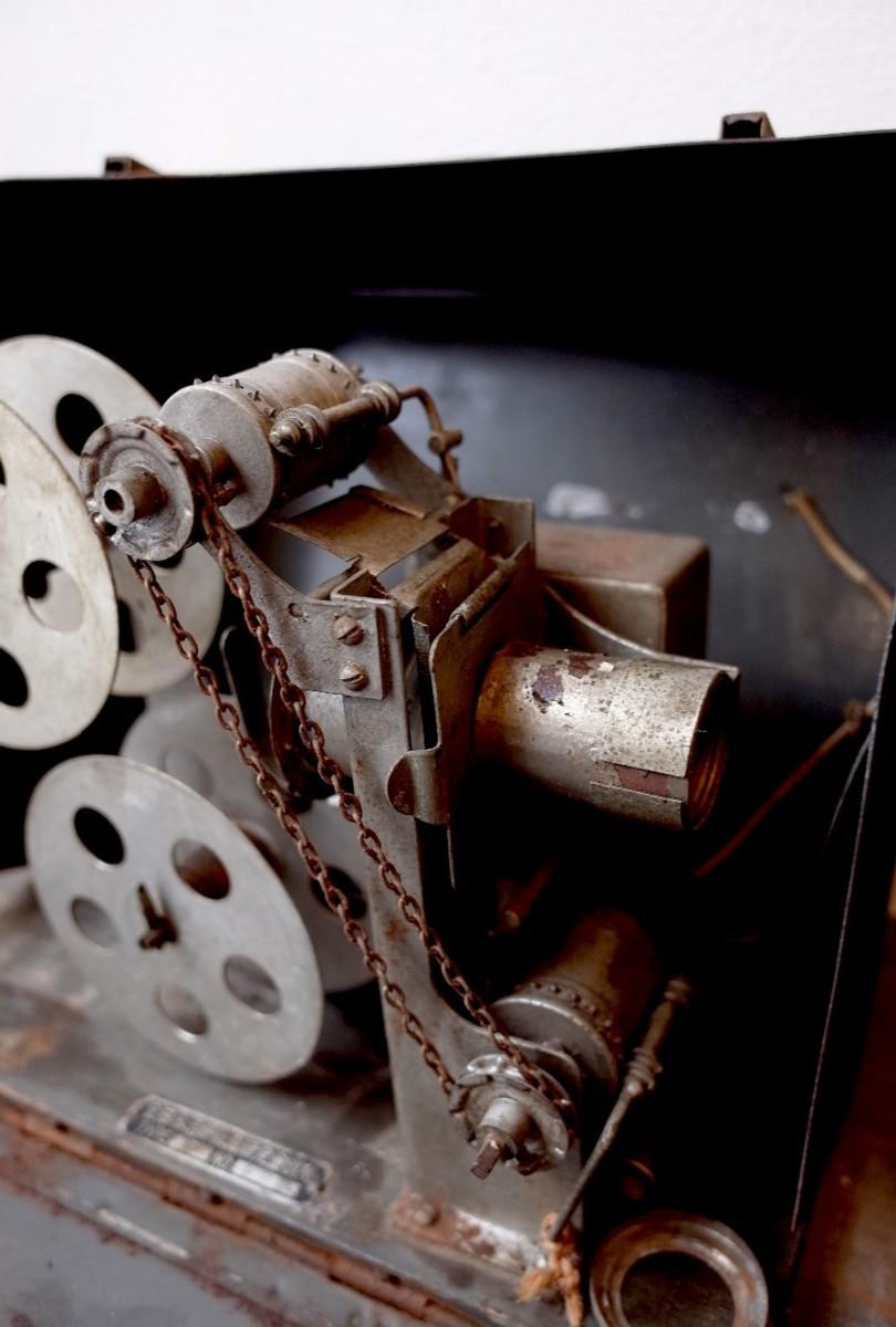 ○アンティーク幻灯機 全日本活映教育研究会 beharus 1928~1933年 プロジェクター古道具のgplus広島2001k_画像4