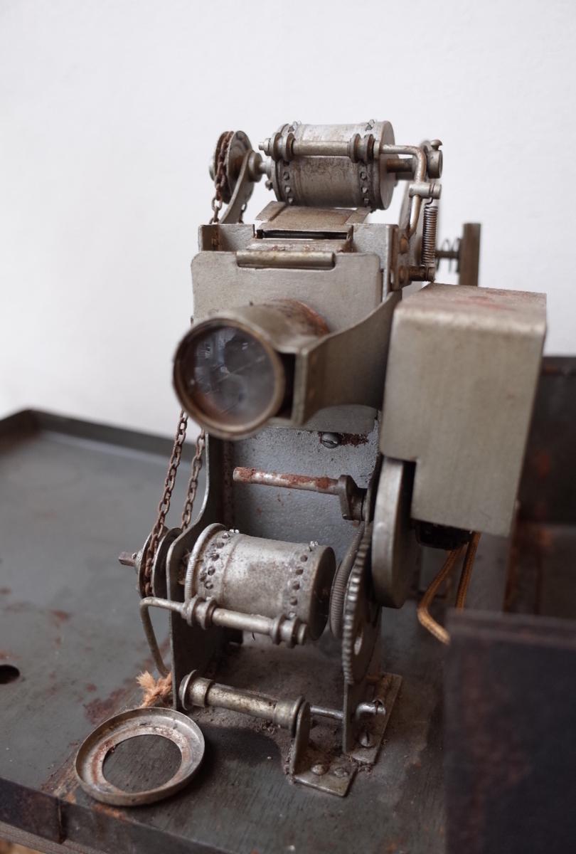 ○アンティーク幻灯機 全日本活映教育研究会 beharus 1928~1933年 プロジェクター古道具のgplus広島2001k_画像3