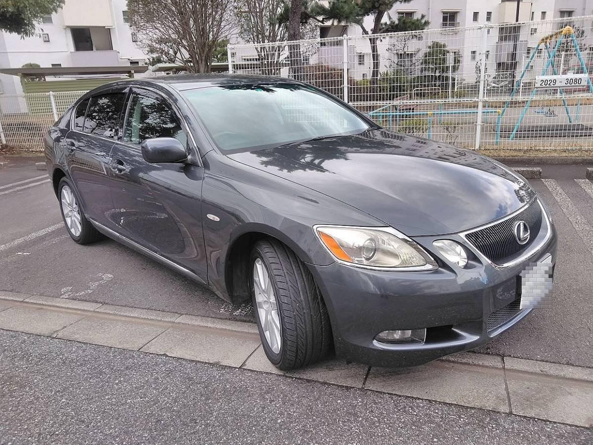 「車検タップリ!令和3年5月迄、レクサス GS 350 AWD、本革シート(シートヒーター&クーラー付)、充実装備のきれいな車です。」の画像1