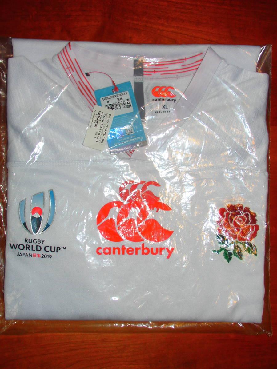 海外XL★RWC2019★England(イングランド代表) Home Pro Shirt(ホーム プロ ジャージ)★canterbury/カンタベリー★ラグビーワールドカップ_画像9