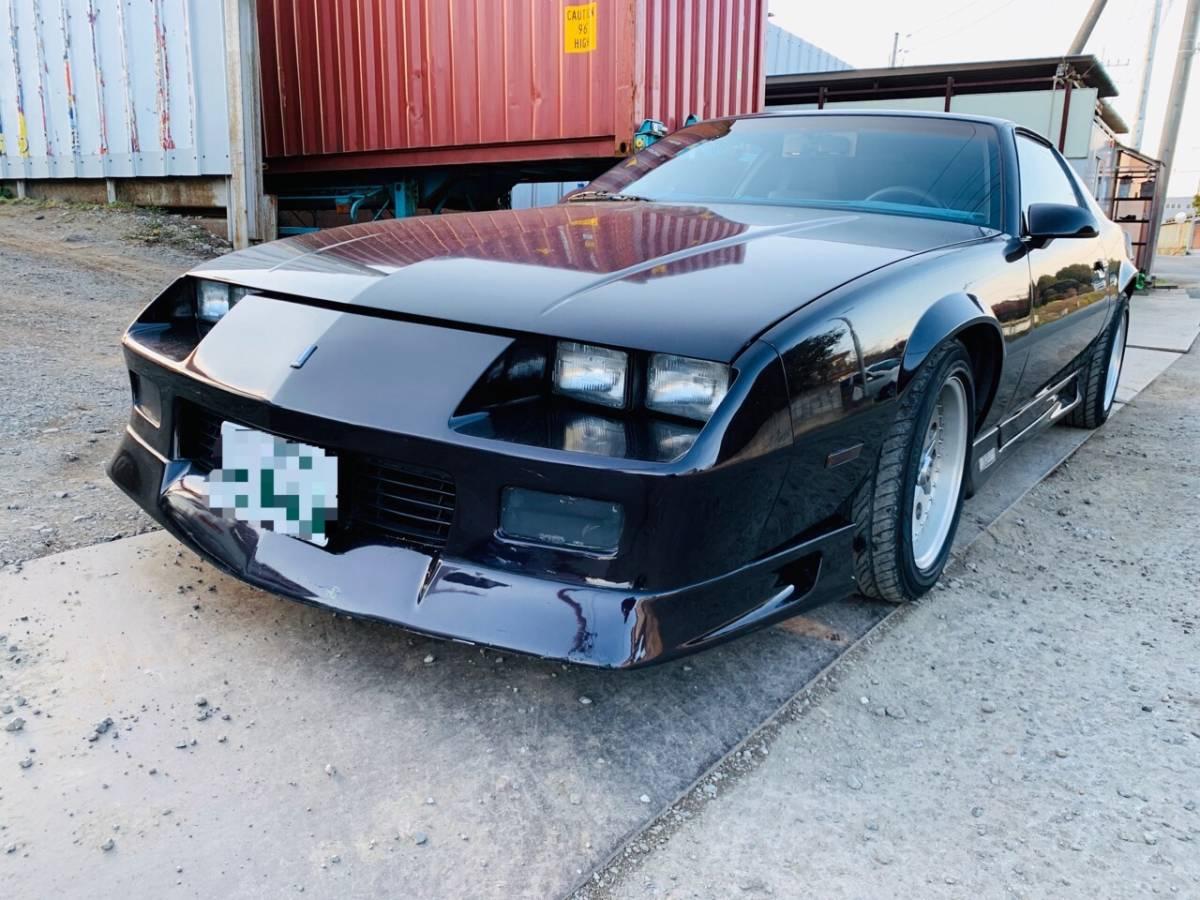 「カマロ 3rd RS 車検付き 8ナンバー登録 ディーラー車 スポーツクーペ 希少オリジナルカラー 」の画像1