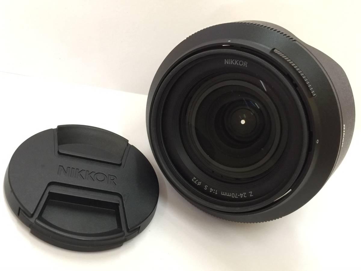♪1円~ カメラ レンズ Nikon ニコン NIKKOR Z 24-70mm f/4 S