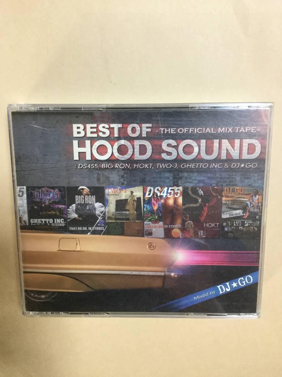 送料無料 BEST OF HOOD SOUND 2枚組 CD+DVD ライヴDVD付 Mixed by DJ GO