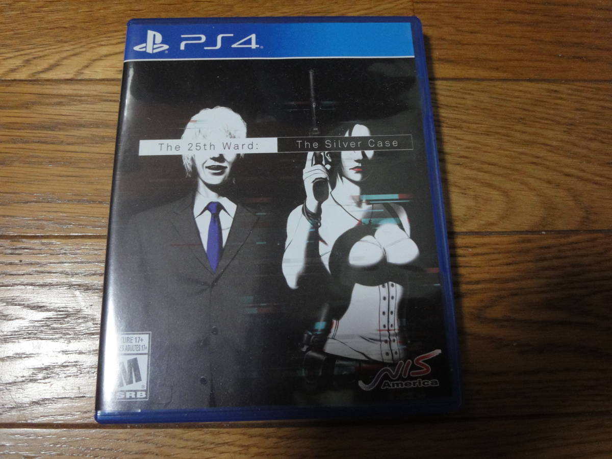 PS4 The 25th Ward: Silver Case (輸入版:北米)