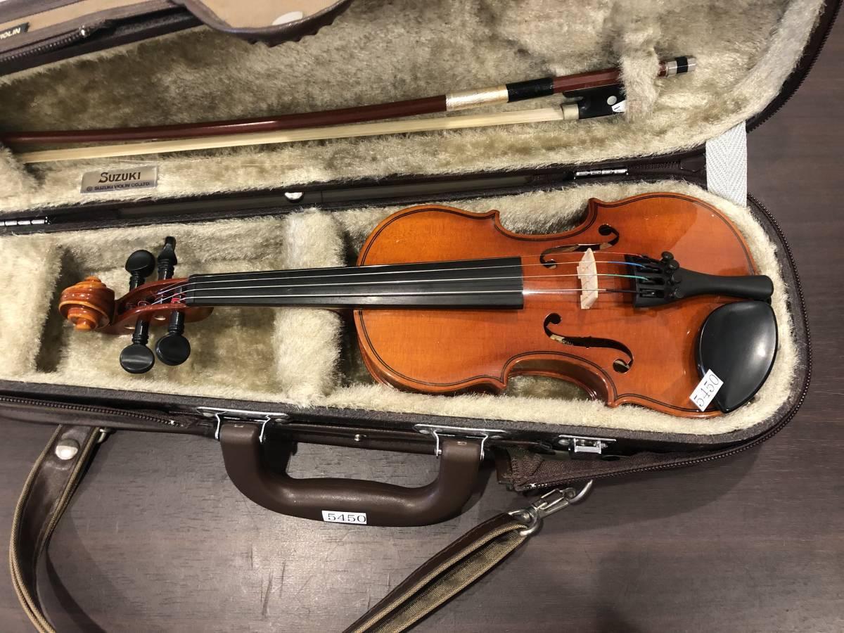 スズキバイオリン No.200 1/16 2008年製 完全整備済み! ようやく1本入荷!オークション限定価格にて出品です!_画像3