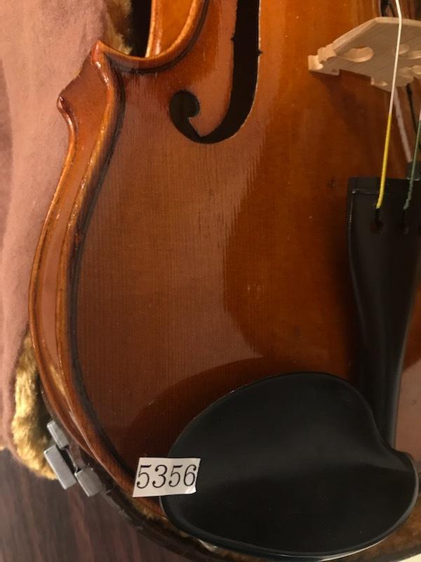 バイオリン イタリア製オールドバイオリン ラベルド「Spirito Sorsana」4/4 定価75,000円のARCOS製弓付属!オークション限定最終値下げ_画像7