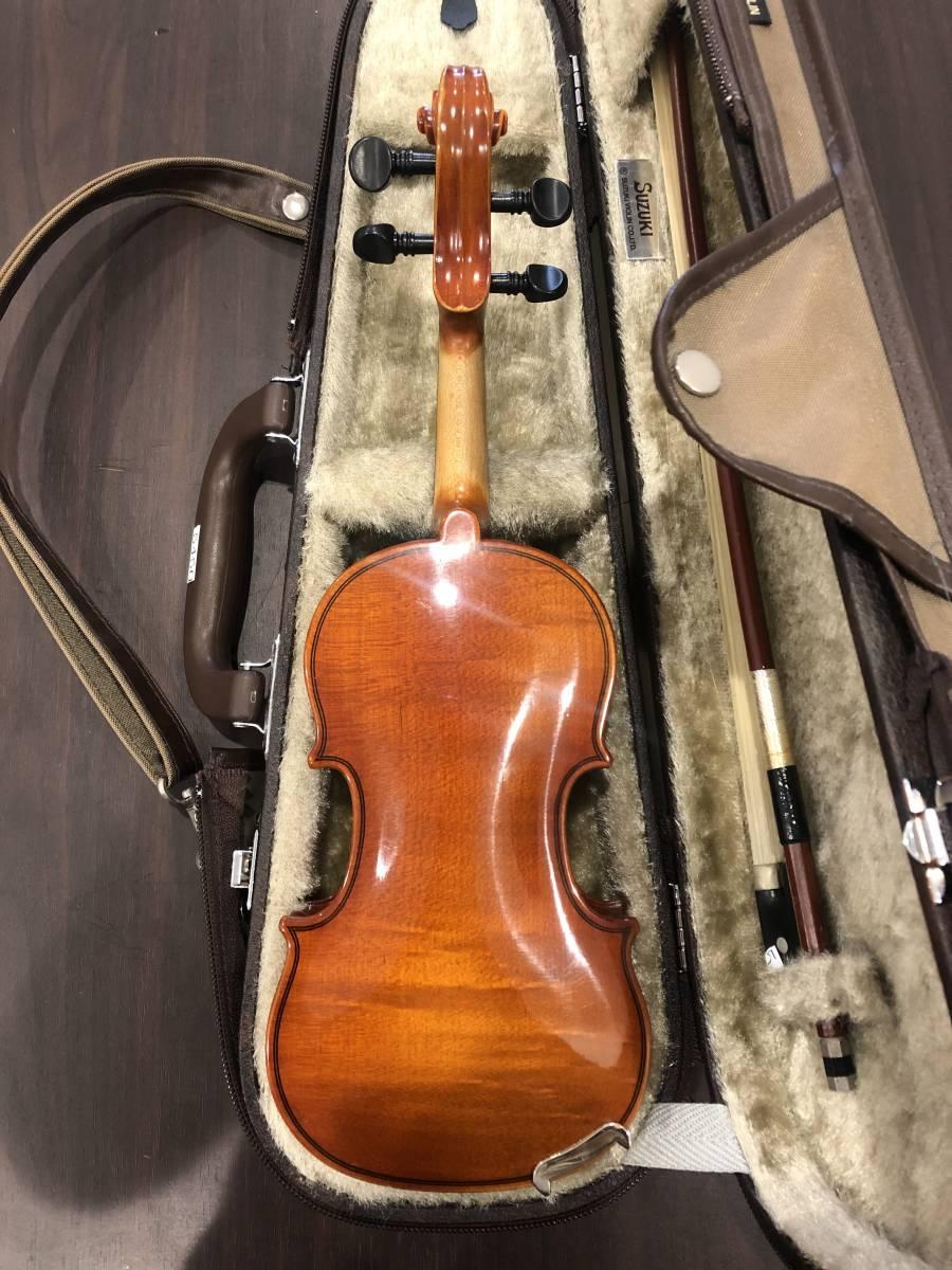 スズキバイオリン No.200 1/16 2008年製 完全整備済み! ようやく1本入荷!オークション限定価格にて出品です!_画像2