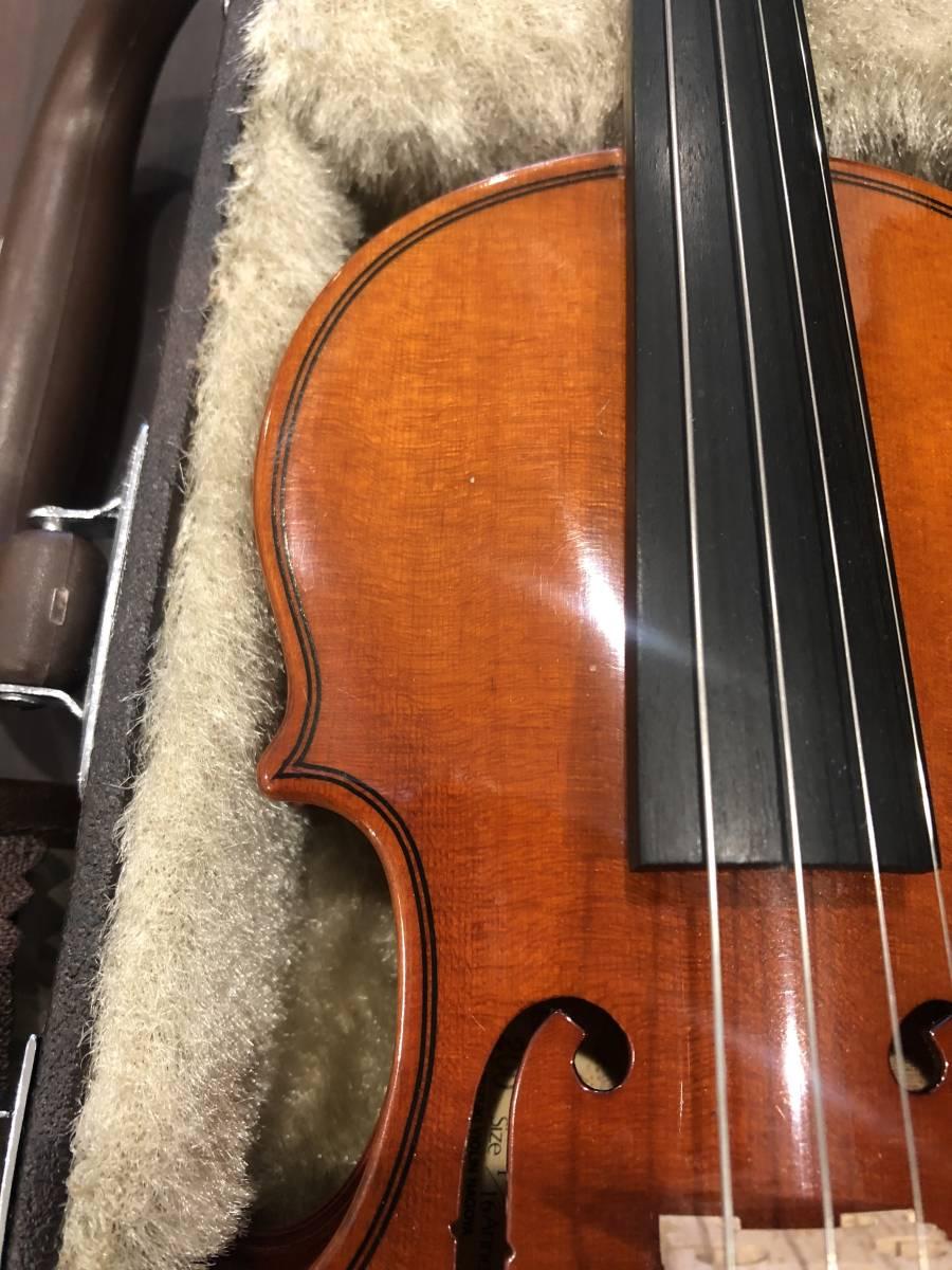 スズキバイオリン No.200 1/16 2008年製 完全整備済み! ようやく1本入荷!オークション限定価格にて出品です!_画像4