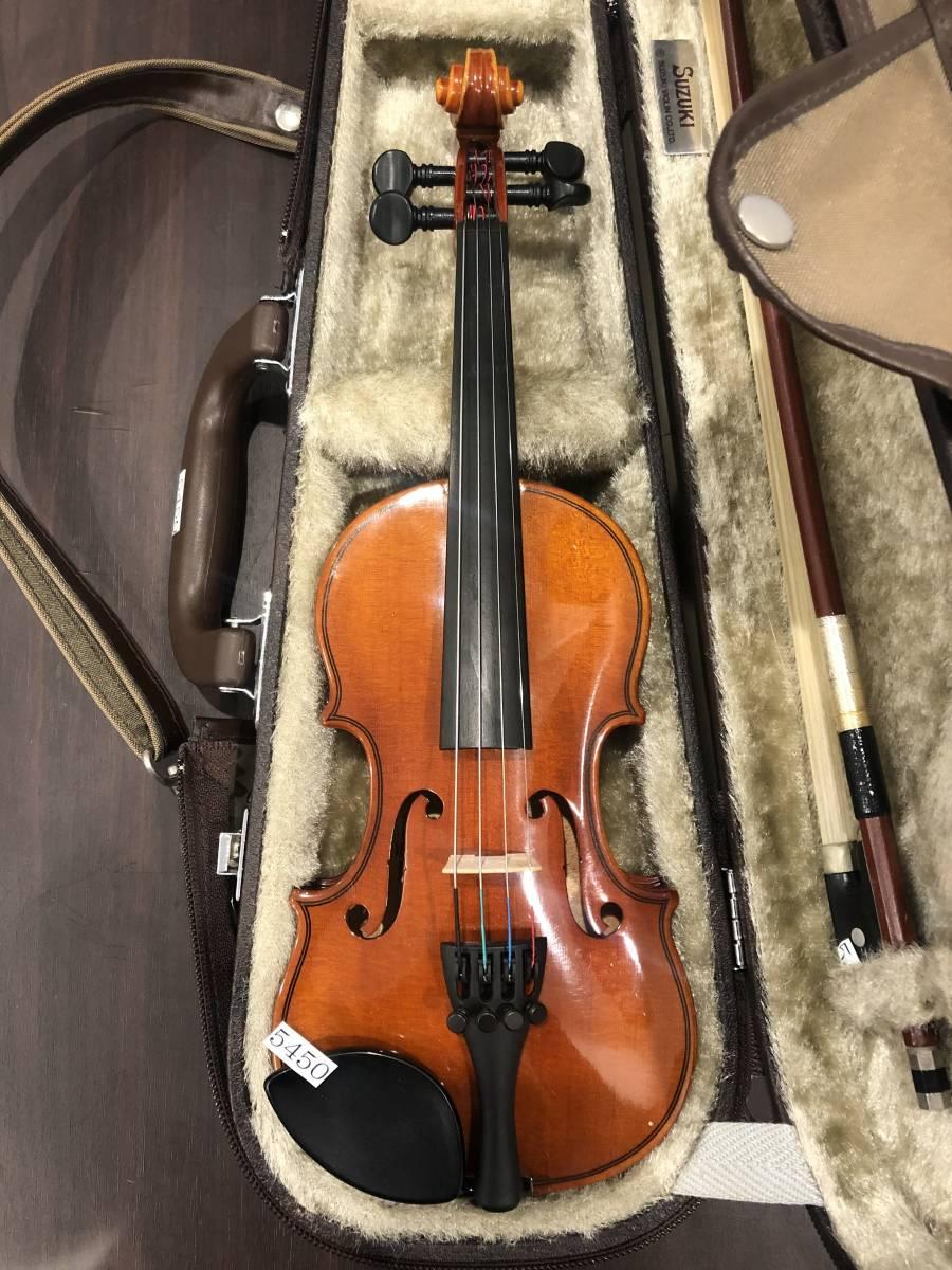 スズキバイオリン No.200 1/16 2008年製 完全整備済み! ようやく1本入荷!オークション限定価格にて出品です!