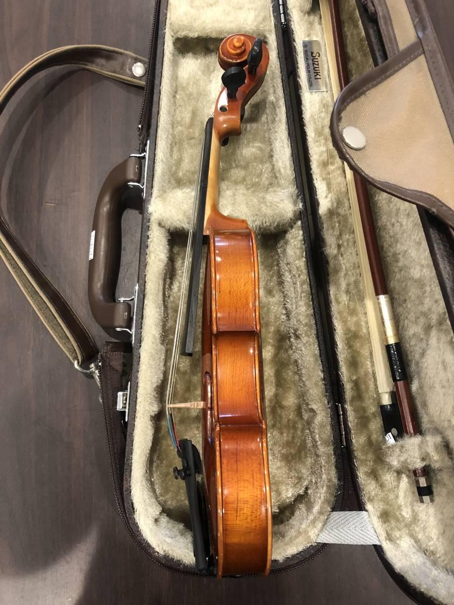 スズキバイオリン No.200 1/16 2008年製 完全整備済み! ようやく1本入荷!オークション限定価格にて出品です!_画像8