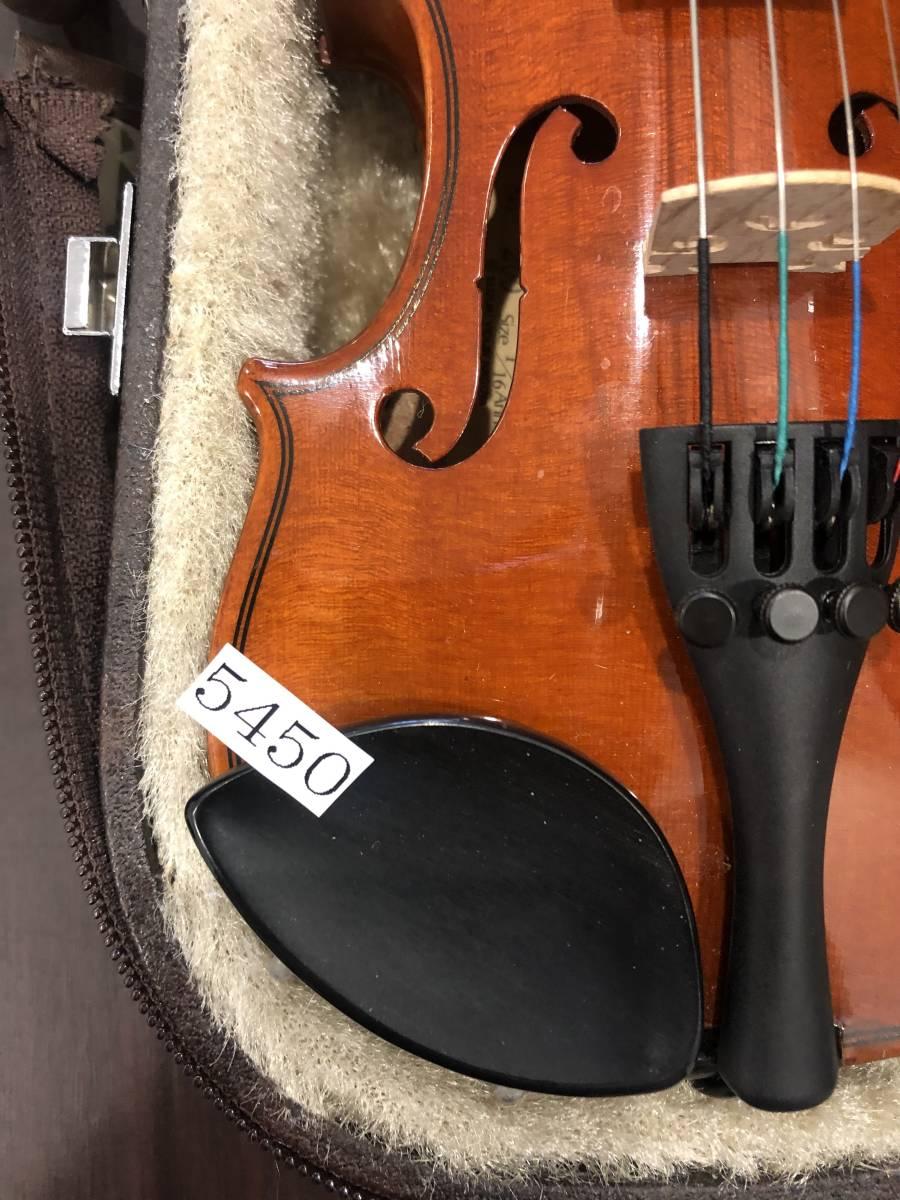 スズキバイオリン No.200 1/16 2008年製 完全整備済み! ようやく1本入荷!オークション限定価格にて出品です!_画像7