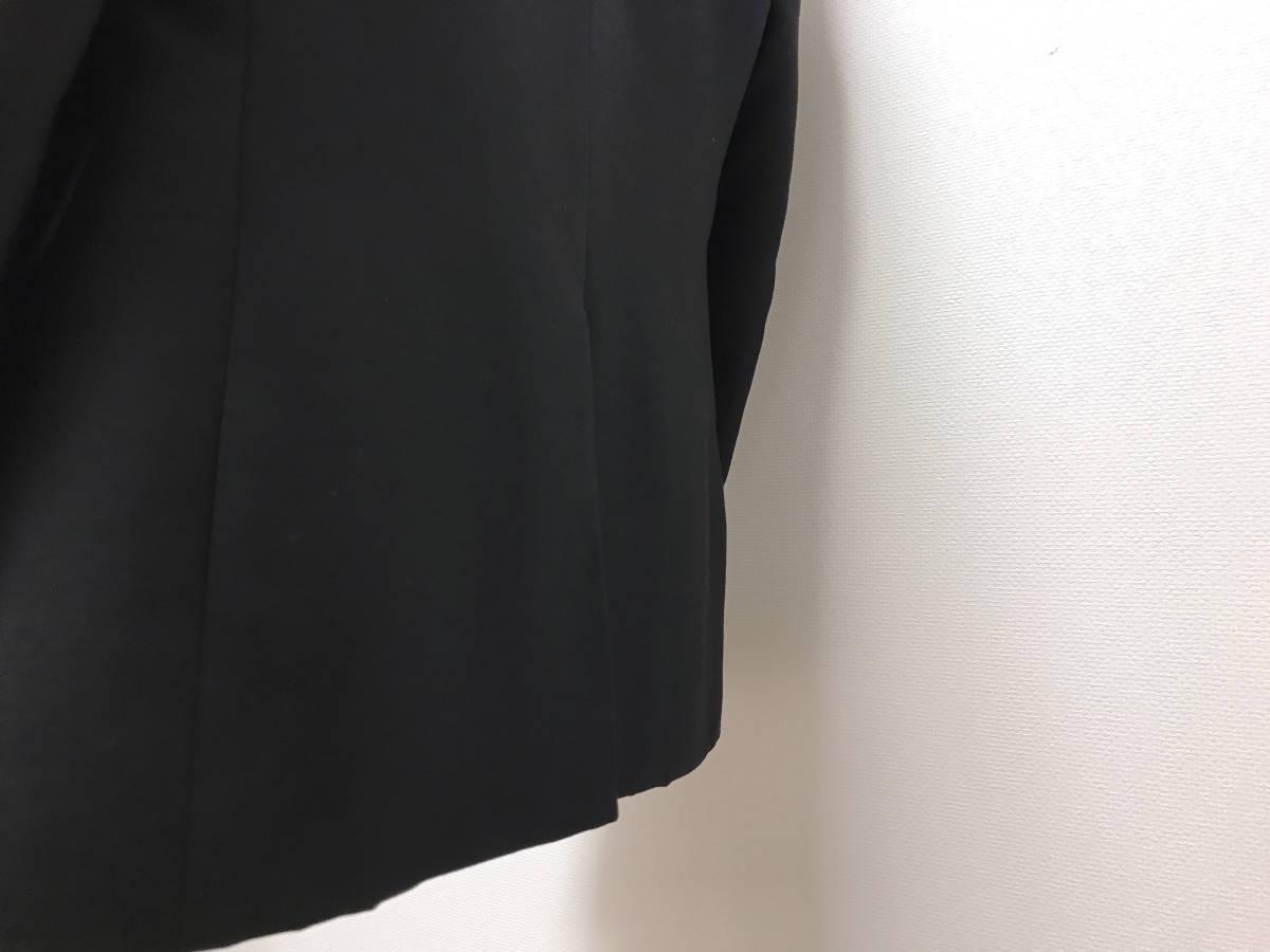 超破格 参考上代40万 新品 PRADA プラダ スーツ 黒 送料無料 冠婚葬祭 ビジネス 純正スーツケース 純正ハンガー ブラック 2B suit メンズ_画像8