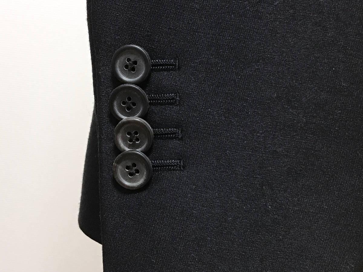 超破格 参考上代40万 新品 PRADA プラダ スーツ 黒 送料無料 冠婚葬祭 ビジネス 純正スーツケース 純正ハンガー ブラック 2B suit メンズ_画像9