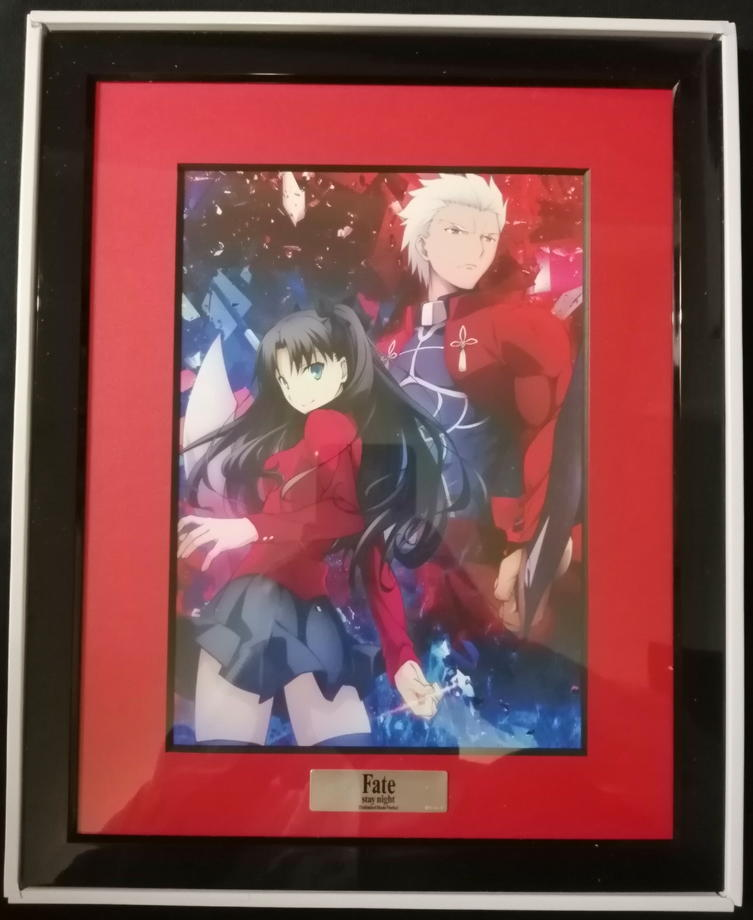 Fate/stay night [Unlimited Blade Works] Blu-ray Disc Box Standard Edition ANIPLEX+購入特典キャラファイングラフ1 遠坂凛 アーチャー